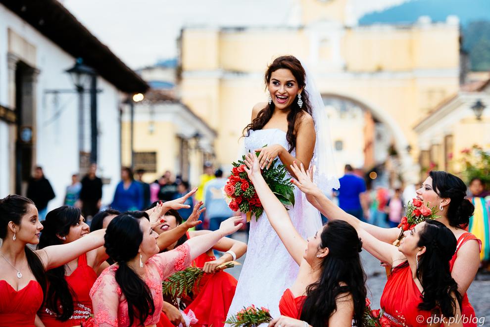 Ślub w Antigua Guatemala, fot. Kuba Głębicki