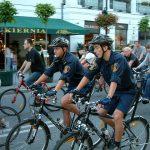 Straż Miejska na rowerach …