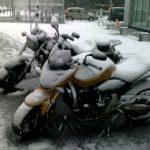 Czyżby koniec sezonu motocyklowego? ;)
