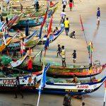 Wioska rybacka i slumsy Cape Coast