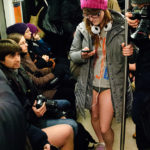 Warsaw No Pants Subway Ride