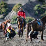 Tenggerowie i ich konie