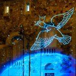 Magia i Światło pod mostem Poniatowskiego