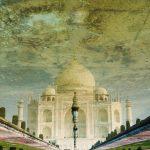 Taj Mahal w lustrze